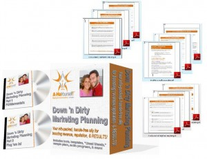 Winner gets our new *Down 'n Dirty Marketing Planning* program...for free!