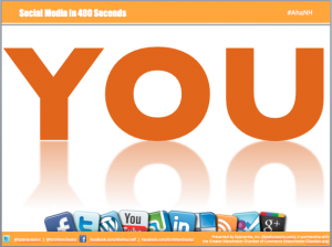 Social Media in 400 Seconds, Starring YOU