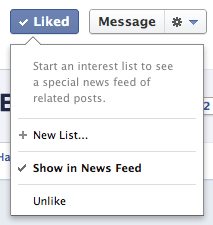 Show Your Facebook Page posts in News Feed