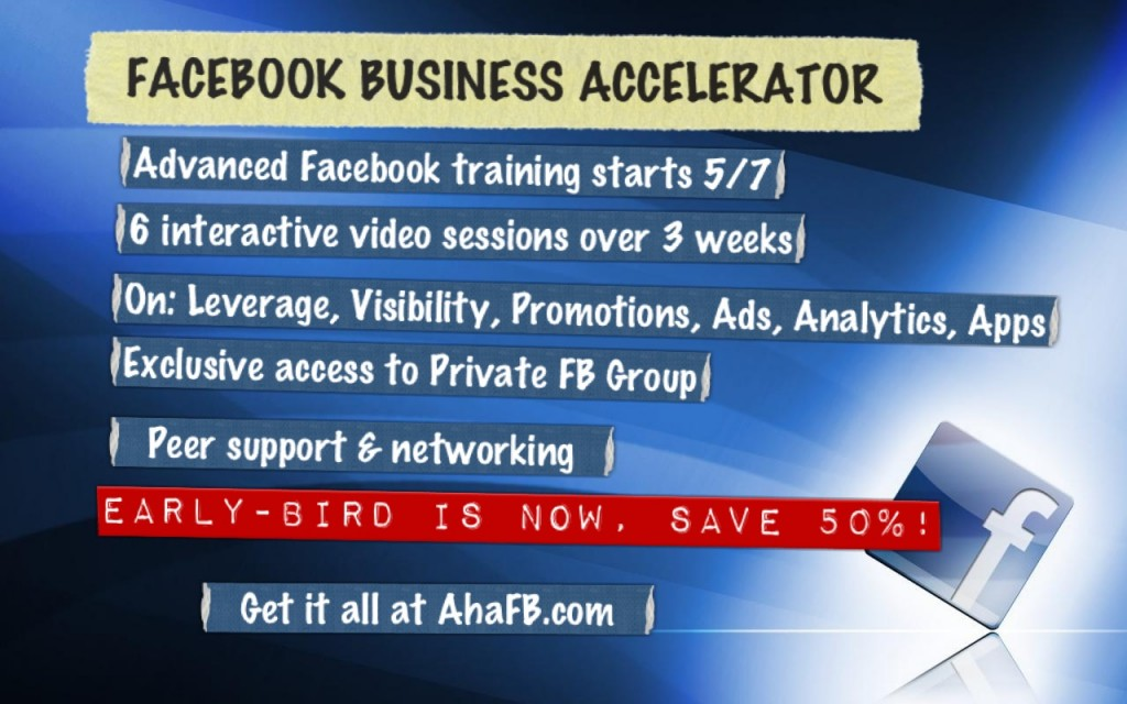 Facebook Business Accelerator highlights