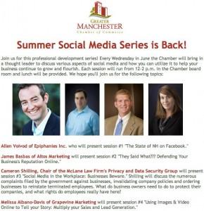 Summer Social Media Series