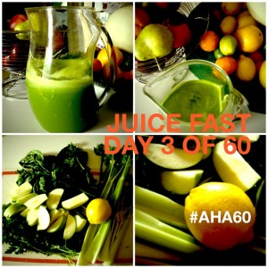 A 60-Day Juice Fast? Why the heck not. #Aha60