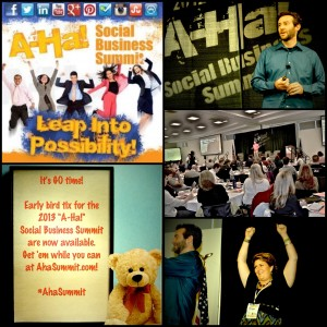 "2013 ""A-Ha!"" Social Business Summit - Leap Into Possibility"